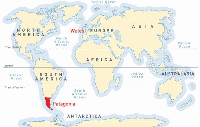Introducing Patagonia and Wales
